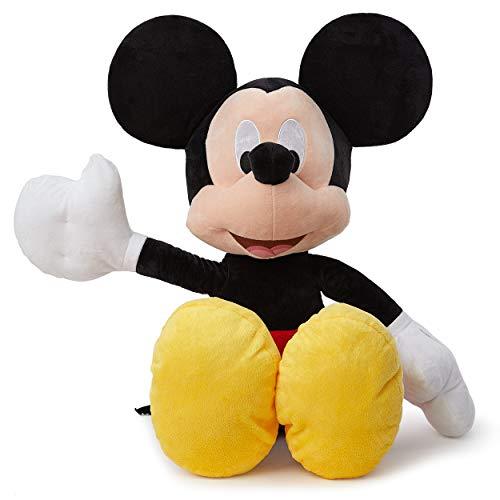 Simba - Mickey Peluche 120 cm tamaño gigante, Disney producto oficial (Simba 6315874210)