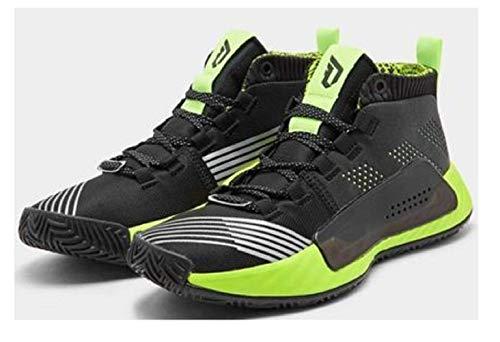 adidas Hombre Dame 5 - Star Wars Zapatos de Baloncesto Negro, 48