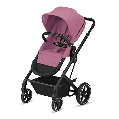 Carrito Balios S Lux Magnolia Pink chasis negro – Cybex Gold