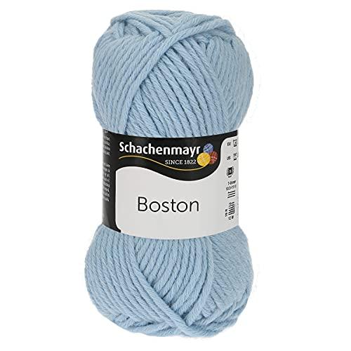 Schachenmayr 9807412-00051 - Hilo para tejer a mano, 70% poliacrílico, 30% lana virgen, color azul claro, talla única