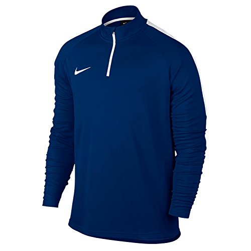 Nike M NK Dry Acdmy Dril T-Shirt à Manches Longues Homme, Multicolore-Bleu/Blanc (Paramount Blue/White/White), XXL