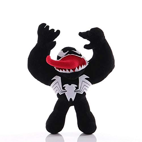 23cm Anime Figures Plush Toy for Boys Venom Puppet Stuffed Soft Doll Gwen Parallel Universe Pillow Toy Creative Birthday for Kids and Adults