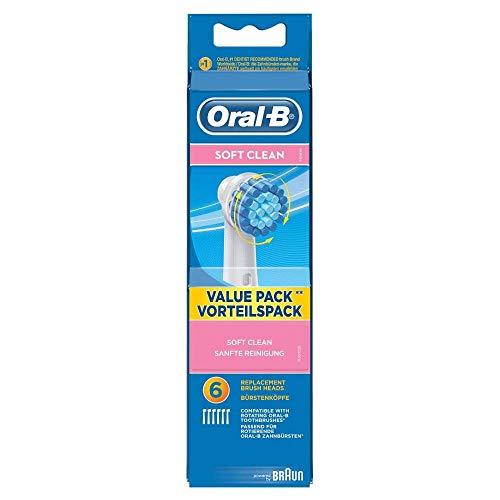 Oral-B Sensitive,Testine di Ricambio per Spazzolino Elettrico, Confezione da 6