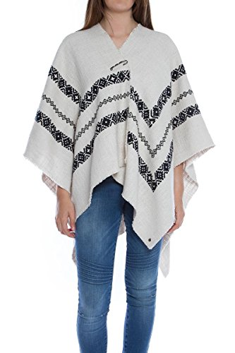 Poncho Maison Scotch BEACK