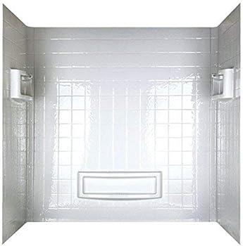 ASB 39094 Distinction White Tub Surround