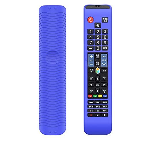WDFGSA Cubierta de Control Remoto Funda Protectora de Control Remoto de Silicona para Samsung TV BN59-01178R / L AA59 Maga Maga A Prueba de Golpes de Manga de protección Lavable (Color : Purple)