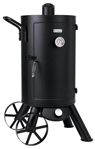 "Tepro Gas-Räucherofen ""Palmdale"", schwarz, 56 x 70 x 111 cm, 3180"