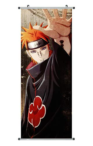 CoolChange Kakemono/Poster de la Serie Naruto, Tema: Pain/Tendo/Pein