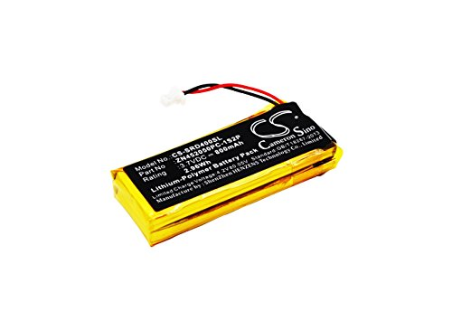 CS-SRD400SL Batería 800mAh Compatible con [SCHUBERTH] C3, [Cardo] G4, G9, G9x, Scala Rider G4, Scala Rider G9, Scala Rider G9x sustituye BAT00002, BAT00004, WW452050-2P, ZN452050PC-1S2P