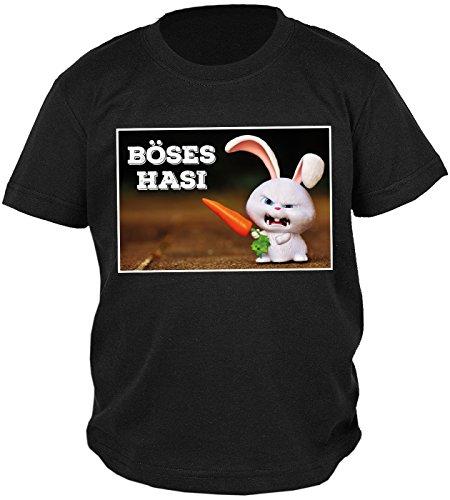 Buben/Jungen-Shirt/Sprüche-Shirt/Spaß-Shirt/Oster-Shirt: Böses Hasi - geniale Geschenkidee