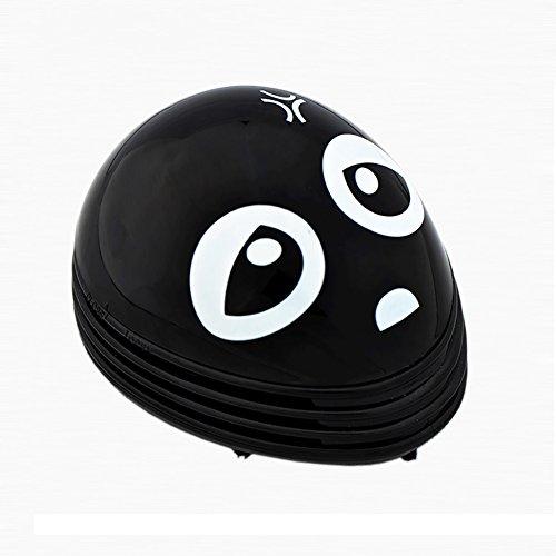MyCreator Mini-Staubsauger mit Emoticon-Muster, Tierform, batteriebetrieben