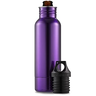 BottleKeeper 1.0 - The Original Stainless Steel Beer Bottle Holder and Insulator to Keep Your Beer Colder