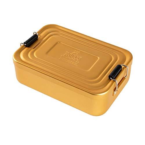 グローバルアロー ROCCO(ロッコ) Aluminum Lunch Box(アルミニウムランチボックス)  ゴールド