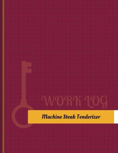 Machine Steak Tenderizer Work Log: Work...