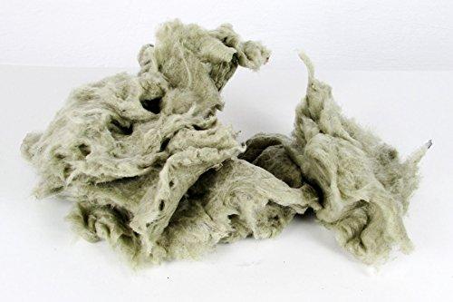 10 KG (1 Sack) - lose Wolle - Steinwolle - Mineralwolle - Stopfwolle - Dämmwolle - nicht brennbar , schall- und wärmedämmend , ohne Bindemittel