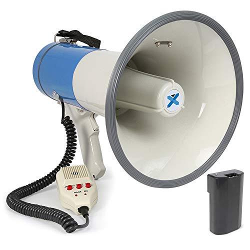 VONYX MEG065 Portable Megaphone Loud Hailer Microphone Bullhorn Siren...