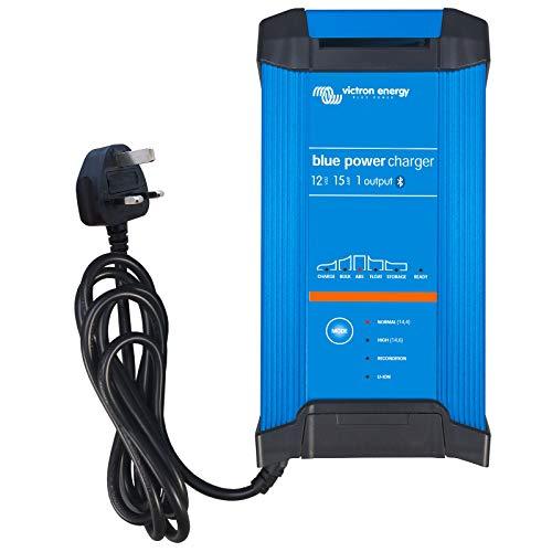 Ladegerät 15A 12V Victron Energy Blue Smart IP22 Bluetooth 12/15 1 Schuko