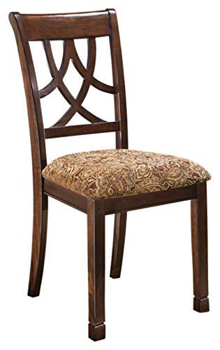 Ashley Furniture Signature Design - Leahlyn Dining Upholstered Side Chair - Pierced Splat Back - Set...