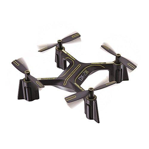 Sharper Image Rechargeable DX-2 Stunt Drone - 2.4 GHz Black