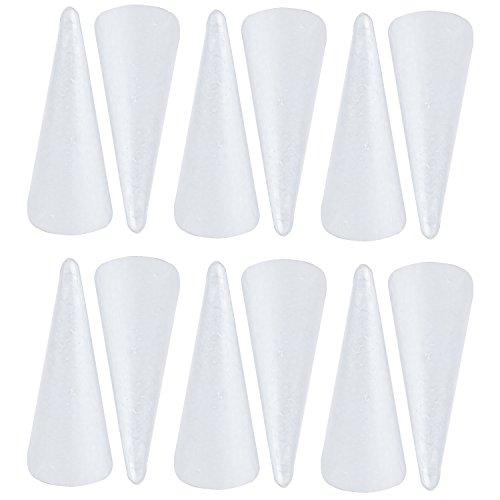 7-inch Styrofoam Cones (12 Pack)