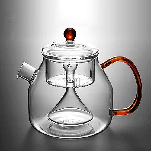 Hoge temperatuur glas stomen theepot elektrische aardewerk kachel thee maken thee bloempot hittebestendige huishouden1200ml