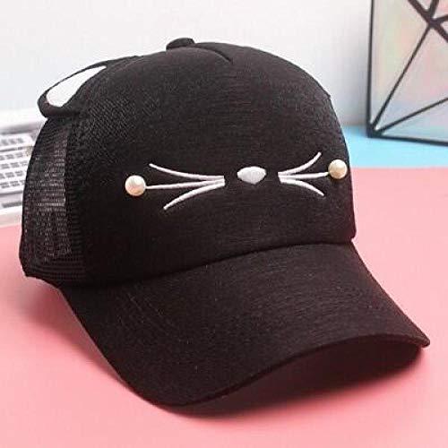 kyprx Hüte für Frauen Vintage Mode Fedora Kids Hats Cap für Jungen/Mädchen Cute Cap Gr schwarz