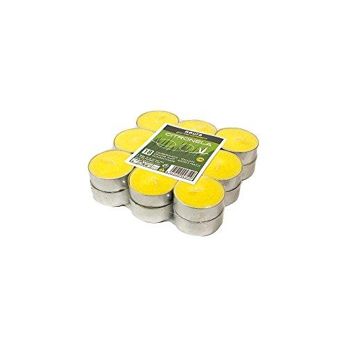 Roura RO340170 Bougie Citronnelle Chauffe Plats Paquet de 18