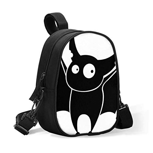 Breastmilk Bags Travel Cooler Flying Happy Scary Bat Insulated Lunch Bag Lunch Bag Kids Easily Attaches to Stroller for Travel Baby Bottle Warmer Or Cool