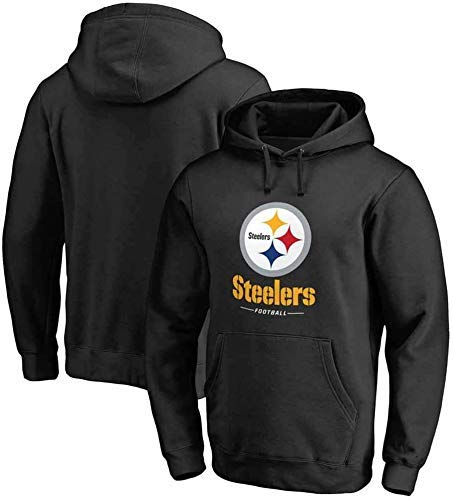 ZMHVOL Steelers Houdo Hodde Sudadera Fútbol Ropa de fútbol Pullover Tops de Manga Larga Tops Deportes Jersey WANGHN (Color : B, Size : XL)