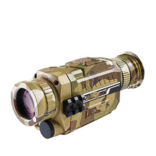 WNTHBJ Digitale Nachtsicht Tarnung HD Outdoor-Patrouille Nacht Fernglas, Golf Bewegliches Im Freien Teleskop