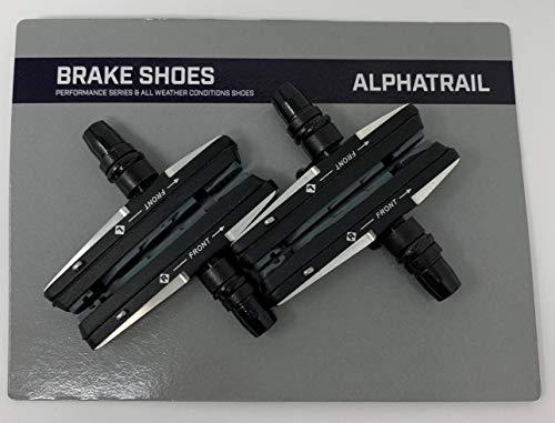 Alphatrail 4X Fahrrad Bremsbeläge Felgenbremse V-Brake 72mm Für Avid, Cane Creek, Clarks, Contec, Promax, Shimano, Sram, Tektro
