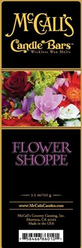 McCall's Candle Bars - Flower Shoppe (2 Pack - 11oz Total)