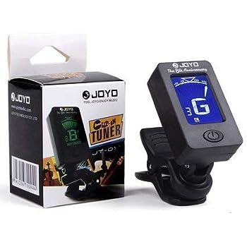 JOYO Guitar Tuner - Digital Electronic Tuner Acoustics and LCD Display for Guitar Bass Violin Mandolin Banjo Ukulele High Precision Calibration Tuner