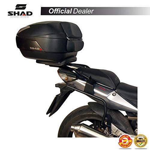SHAD H0CF67IF Soporte Maletas 3P System para Honda CBF 600 S/N, Negro