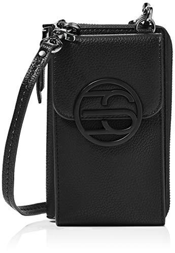 Esprit Accessoires Damen 070EA1O312 Umhängetasche, 001/BLACK, 1SIZE
