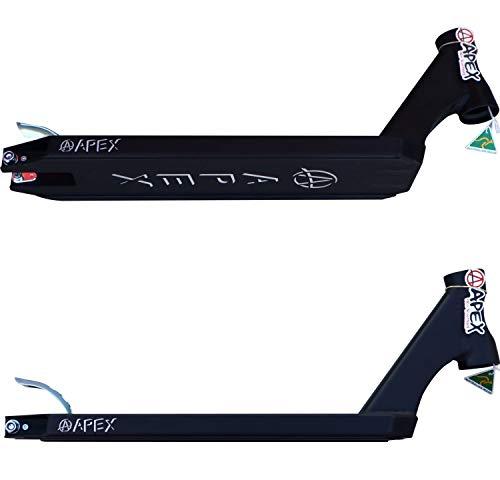 Apex Pro Stunt-Scooter Deck (schwarz, 580 (49cm))