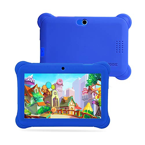 7inch Kids Tablet, IPS Quad Core HD Tablet, Eye Protection Display, Kids Tablet with WiFi Parental Control Education Apps and Learning Games, Best Gift for Boys Girls