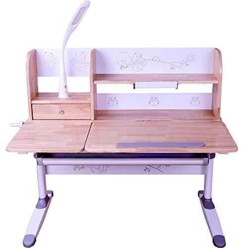 Set de mesa y silla para niños Estudio para niños Silla de mesa Set de mesa de mesa para niños Mesa y silla para niños Conjunto de mesa de madera para niños Niños Niños Amigos Familia (Color: Madera,