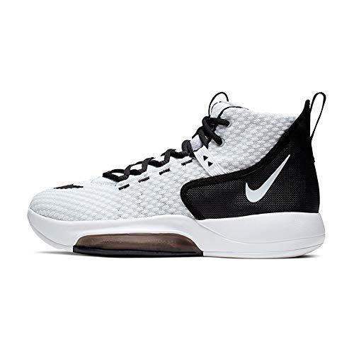 Nike New Zoom Rize TB Mens BQ5468-100 Basketball Shoes Men's 13 White/Black