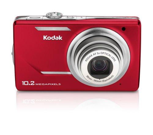 Kodak M380 Easyshare Digitalkamera (10 Megapixel, 5-Fach Opt. Zoom, 7,6 cm (3 Zoll) Display) rot