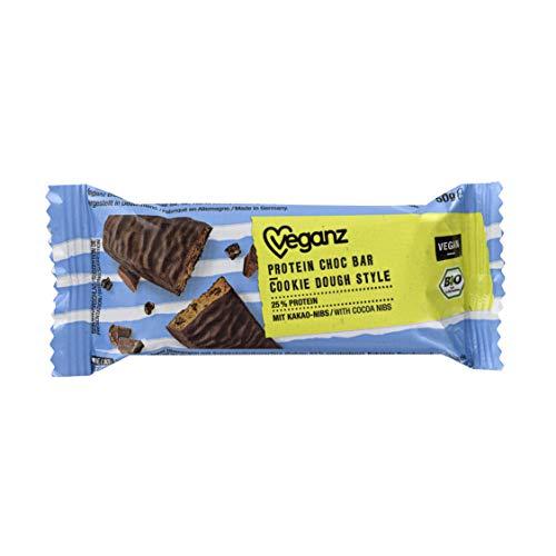 Veganz Bio Protein Choc Bar Cookie Dough Style