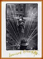 ポスター レナード フリード Harlem New York/Freed 額装品 ウッドベーシックフレーム(オレンジ)