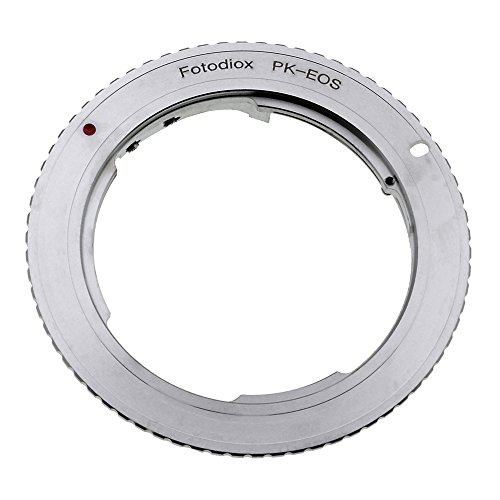 Fotodiox Lens Mount Adapter, Pentax K (PK) Lens to Canon EOS EF,...