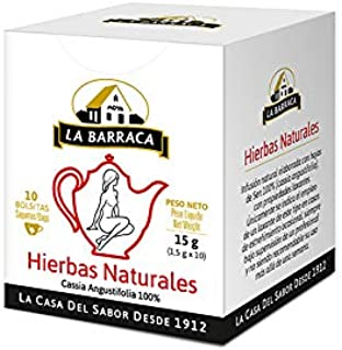 La Barraca - Infusión La Barraca Pack 240 Sobres - Infusión Laxante Natural Artesanal