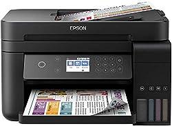 Extrêmement faible coût par page jusqu'à 14000pages en noir et blanc et 11pages en couleur, cette imprimante jet d'encre 3en 1–3en 1offre une vitesse d'impression de 15pages/minute, impression recto verso, un compartiment avant de 150feuilles...