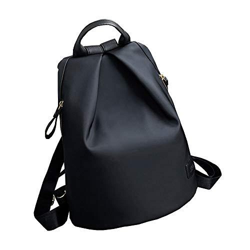 CHUANGCHUANG Sac à dos sac à bandoulière Oxford tissu personnalité plier imperméable à l'eau casual nylon toile dames sac à dos