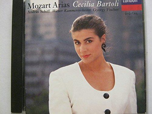 Cecilia Bartoli - Mozart Arias by Cecilia Bartoli [Mezzo-Soprano], András Schiff [Piano], Wiener Kammerorchester (1992) Audio CD
