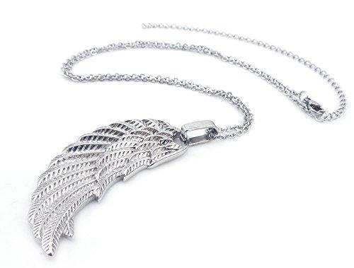 Glücksbringer Halskette mit Engelsflügel Engelsrufer Magnetanhänger Flügel Schutzengel Rufer handgearbeitet inkl. Kette Energetix 4you 1749