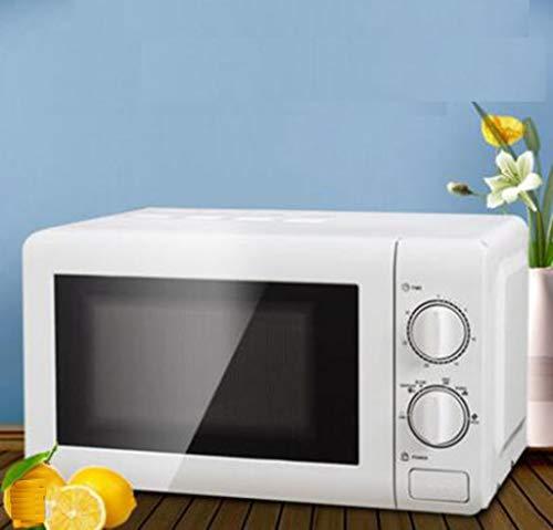 LJXWH Mikrowellenherd, Haushalt kleine Mini-Heizung.Multifunktions-Drehtisch Einer Maschine hot hot Reiskocher for Küche/Restaurant/Hotel/Büro/Krankenhaus (Color : White)