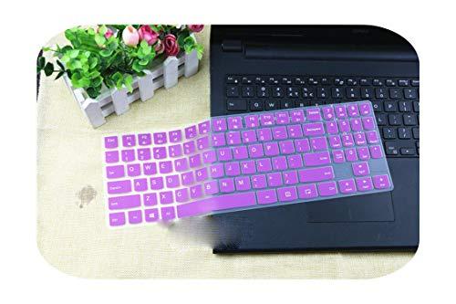 Silicone Protective Cover for 15 Inch Keyboard for Lenovo Legion Y720 Y520 Y530 Y540 R720 R730 15Ikbn R720-15Ikbn-Purple-